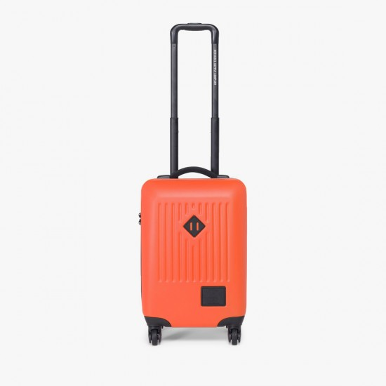 Trade Luggage Small Vermillion Orange