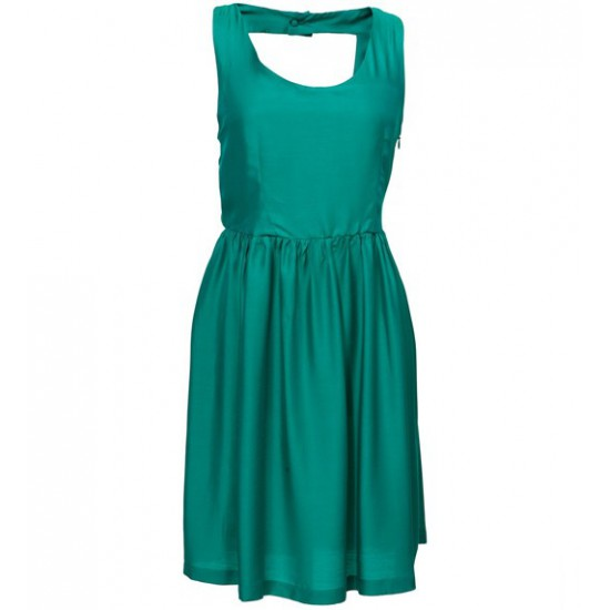 Erretak Dress Seda Green