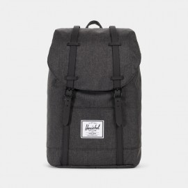 Retreat Backpack Black Crosshatch