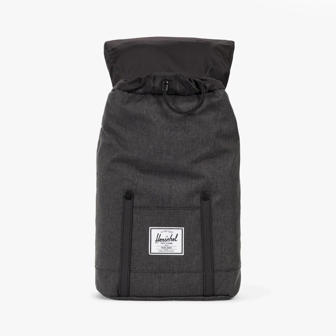 Retreat Backpack Black Crosshatch 23b9d8cade582
