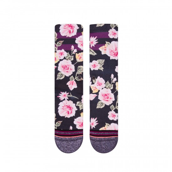 Overjoyed Socks Black
