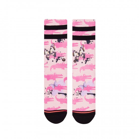 Calcetines Alligator Pie Pink