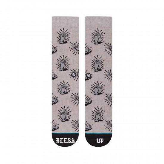 Bless Up Socks Grey