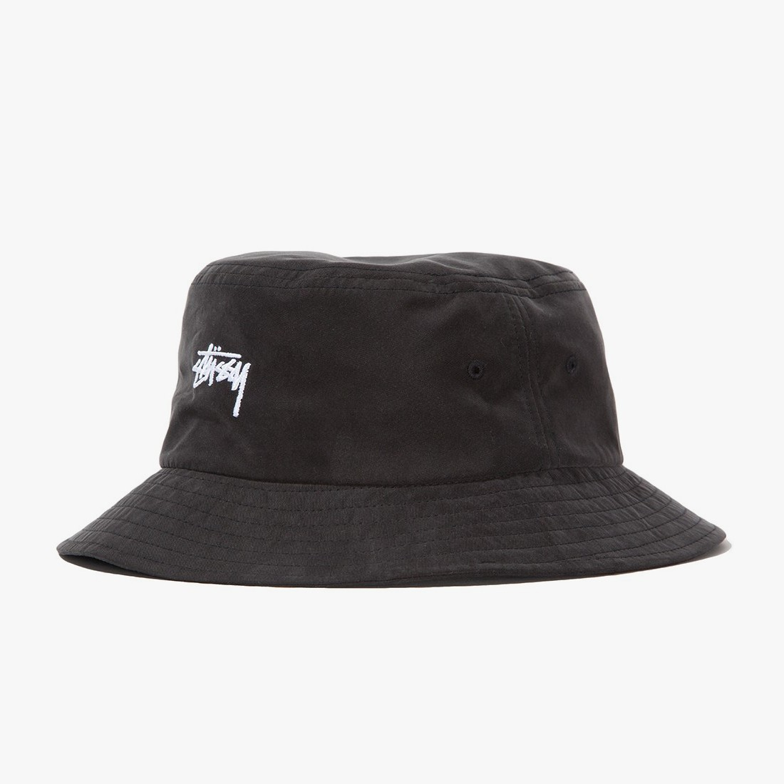 3b5ccdc55fd Stüssy Stock Bucket Hat Black