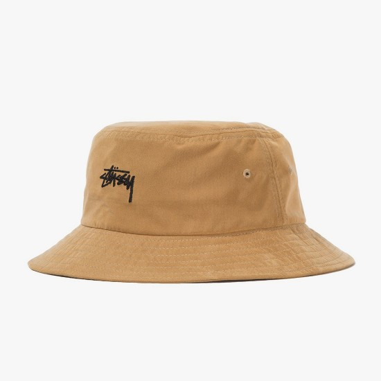 Stock Bucket Hat Camel