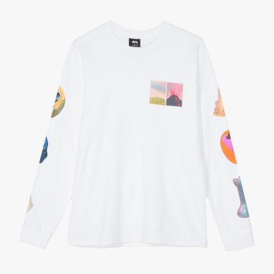 Camiseta M/L Primordial White