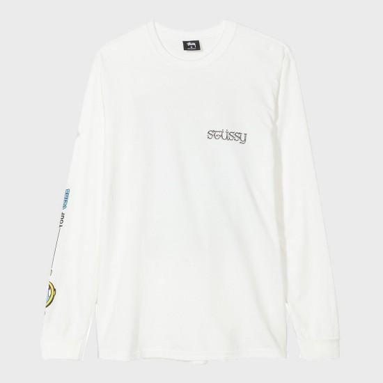 Camiseta M/L Stars Natural