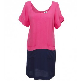 Kamakura Hellen Dress Fuchsia