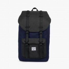 Little America Backpack Peacoat/Black Crosshatch