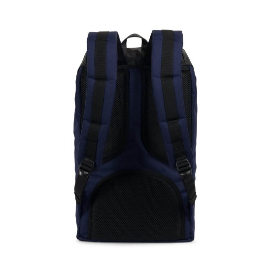 Mochila Little America Peacoat/Black Crosshatch