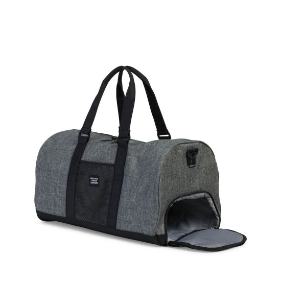 Novel Duffle Bag Raven Crosshatch/Black
