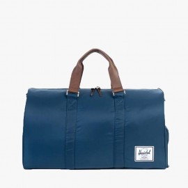 Novel Duffle Bag Navy/Saddle Leather