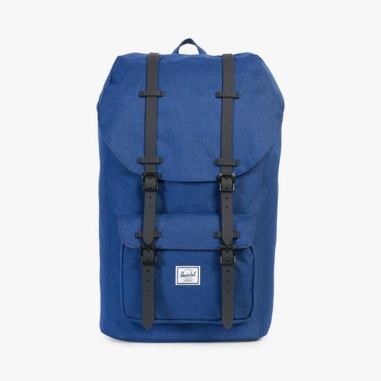 Little America Backpack Eclipse Crosshatch / Black Rubber