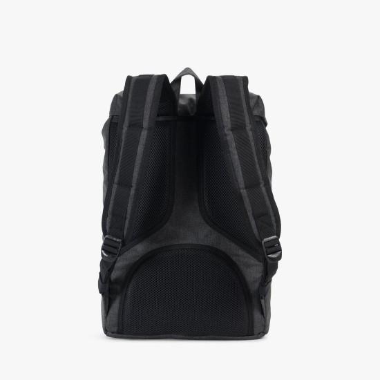Little America Backpack Mid-Volume Black Crosshatch