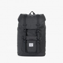 Little America Backpack Mid-Volume Black Crosshatch