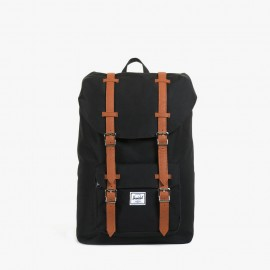 Little America Mid-Volume Backpack Black Tan