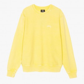 Dessuadora Stock Logo Crew Yellow