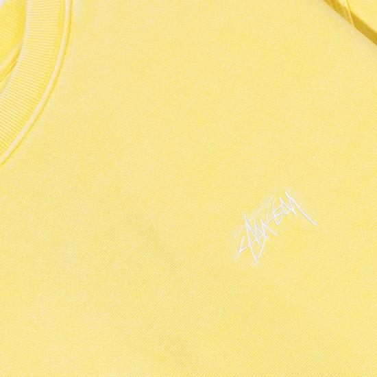 Sudadera Stock Logo Crew Yellow