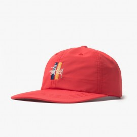 Gorra Bars Logo Low Pro Red