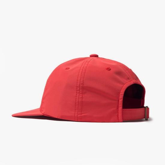 Gorra Bars Logo Low Pro Red