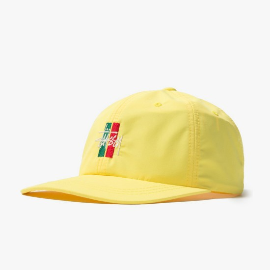Gorra Bars Logo Low Pro Yellow