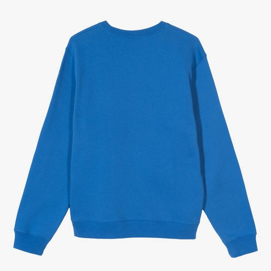 Arch Applique Crew Blue