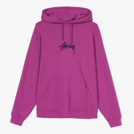 Dessuadora Stock Logo Applique Hood Berry