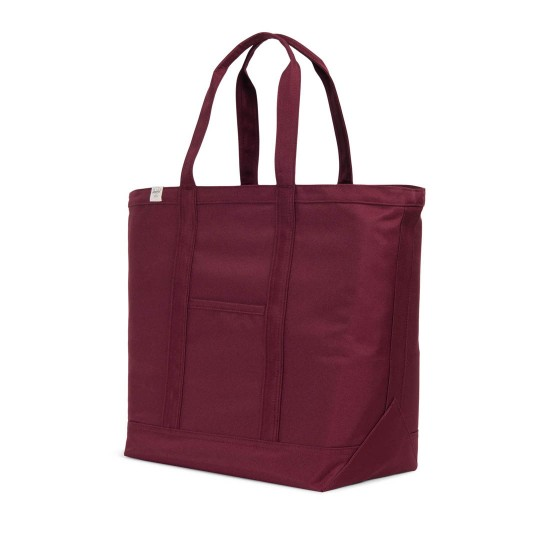 Bamfield Tote Bag Mid Volume Windsor Wine