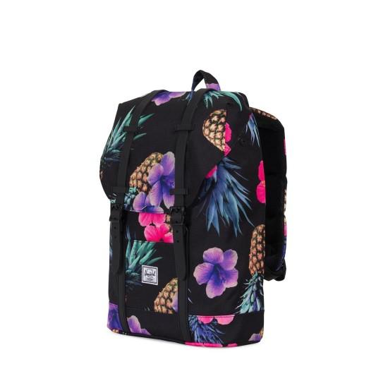 Retreat Mid Volume Backpack Black Pineap