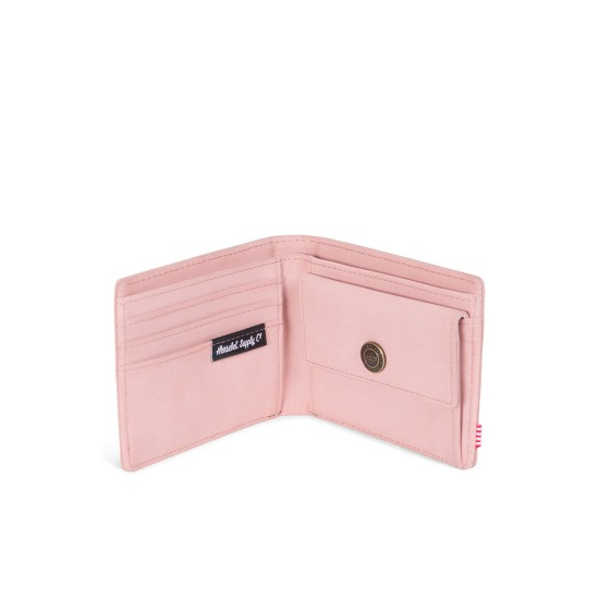 Hank Coin Wallet RFID Leather Ash Rose