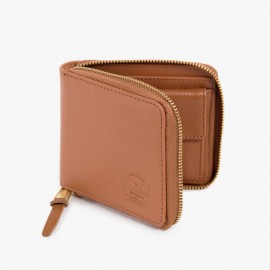 Cartera Walt Leather Tan