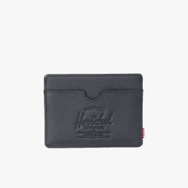 Charlie Wallet Leather RFID Black
