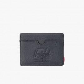Tarjetero Charlie Leather RFID Black