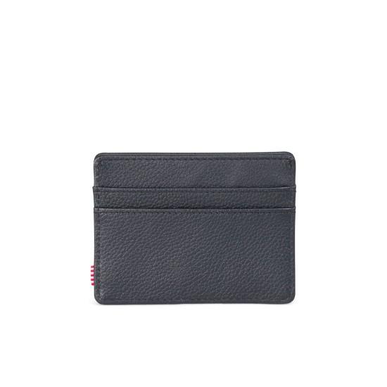 Charlie Wallet Leather RFID Black