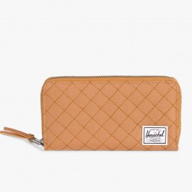 Thomas Wallet RFID Caramel Quilted