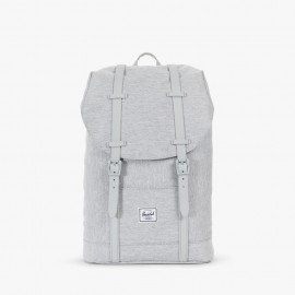 Retreat Mid Volume Backpack Light Grey Crosshatch