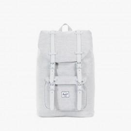 Little America Mid Volume Backpack Light Grey Crosshatch