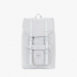 Mochila Little America Mid Volume Light Grey Crosshatch