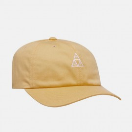 Triple Triangle Curved Visor Hat Sauterne