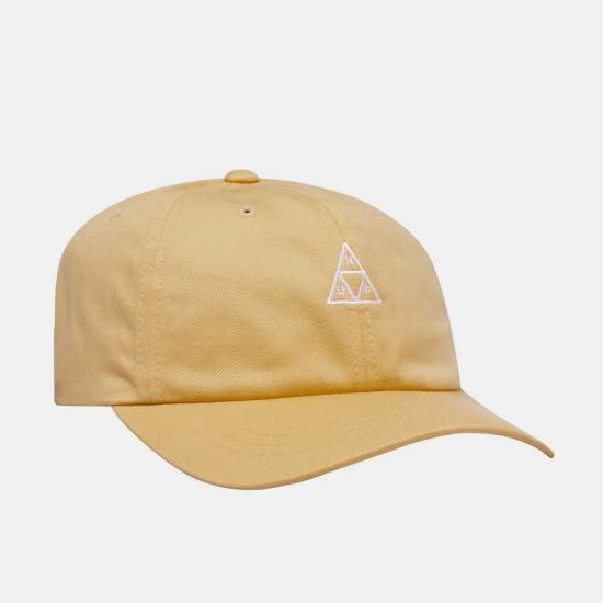 Triple Triangle Curved Visor Hat Sauterne