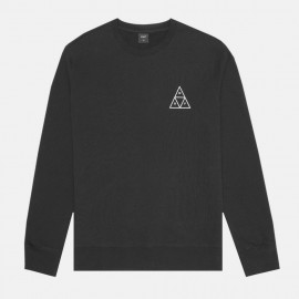 Sudadera Triple Triangle Crew Black