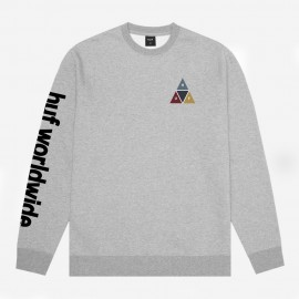 Sudadera Prism Crew Grey Heather
