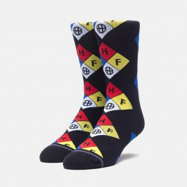 Hazard Sock Black