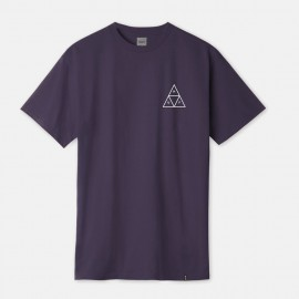 Triple Triangle T-Shirt Purple Velvet