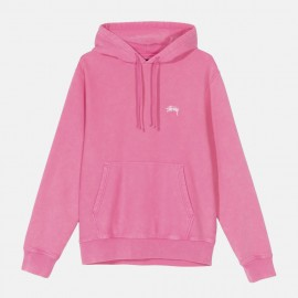 Dessuadora Stock Logo Hood Hot Pink