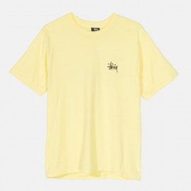 Basic Stüssy Tee Lemon