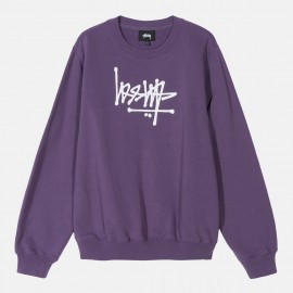 Dessuadora Flip Crew Fleece Berry