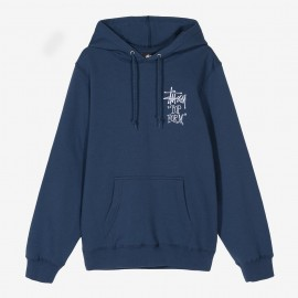 Dessuadora Top Form Hood Navy