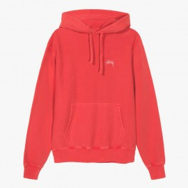Sudadera Stock Logo Hood Red