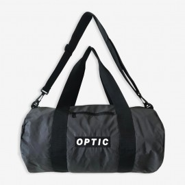 STND Sport Bag - Glow In The Dark Logo and Reflective Fabric - Black